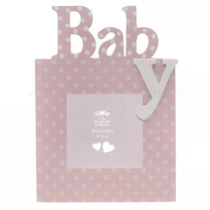 Baby Girl - Pink Photo Frame