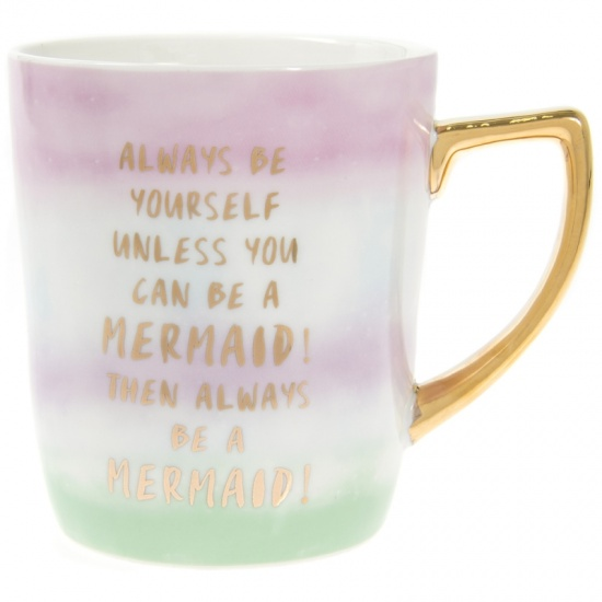 Always Be Yourself Unless You can be a Mermaid - Large Ceramic Mug
