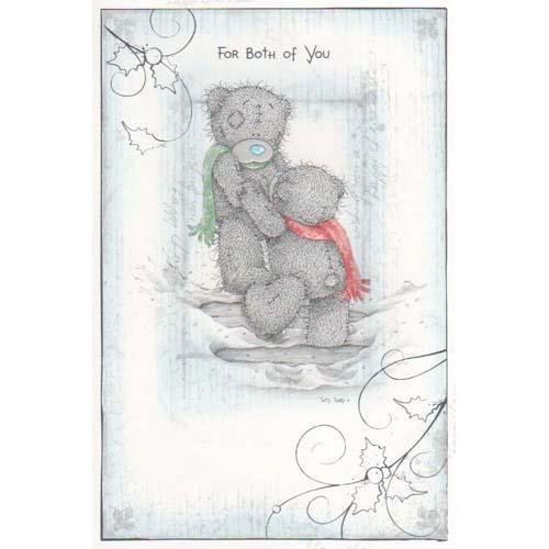 Me to You - For Both of You - Christmas Card