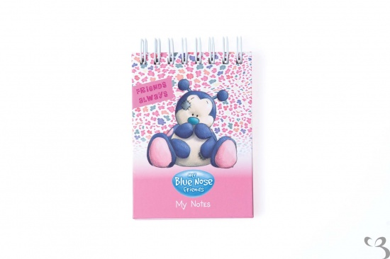 Me to You - My Blue Nose Friends A7 spiral notebook - Dot the Ladybird