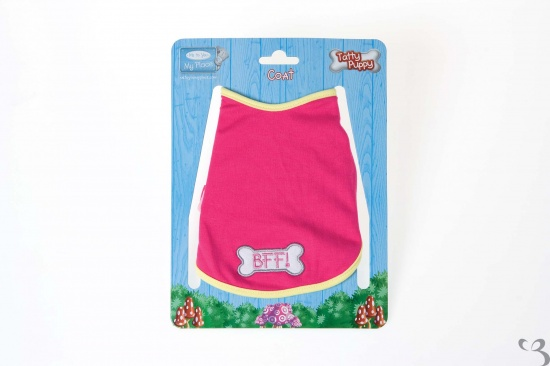 Me to You - Tatty Puppy Pink BFF Design Coat