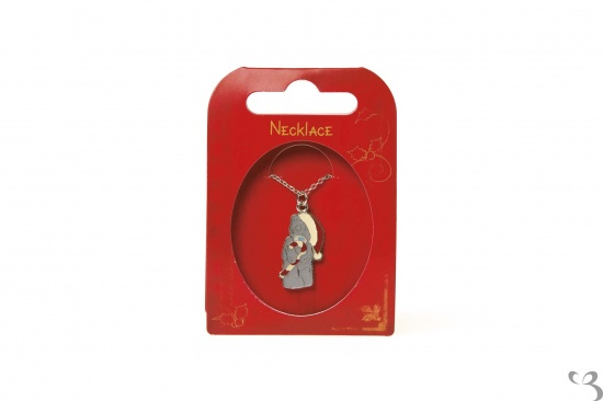 Me To You - Tatty Teddy Christmas Enamel Necklace Bear