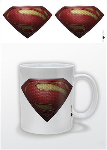 Man of Steel Logo - Superman - Ceramic Mug