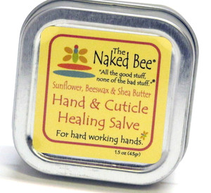 The Naked Bee - Hand and Cuticle Salve Orange Blossom .