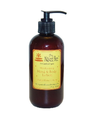 The Naked Bee - Orange Blossom Honey Hand & Body Lotion 8oz - 237ml - Pump Bottle