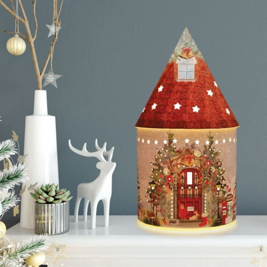 Fairy House - Santa's Workshop Christmas LED Light up decoration