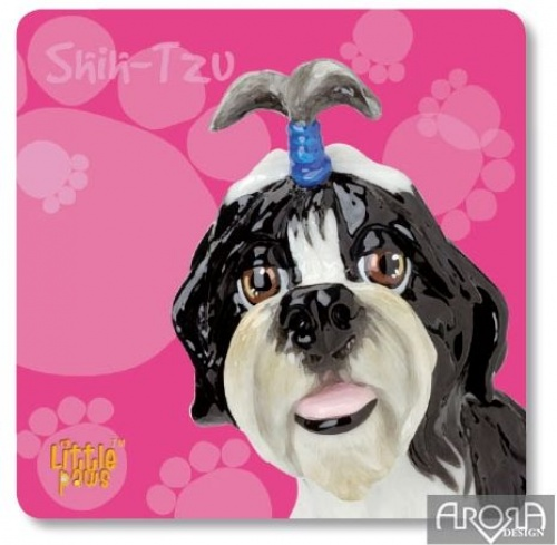 Arora Little Paws - Shih-Tzu Coaster