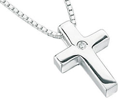 jewellery p zoom boy s diamond pendant necklace silver boys for little d cross threelittlebears