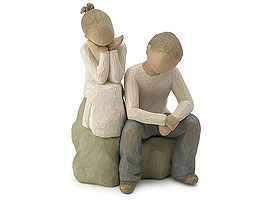 Willow Tree - Brother & Sister Figurine