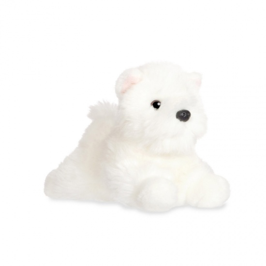 Love to Cuddle - Westie 8 inch Soft Plush Toy - Aurora - West Highland Terrier