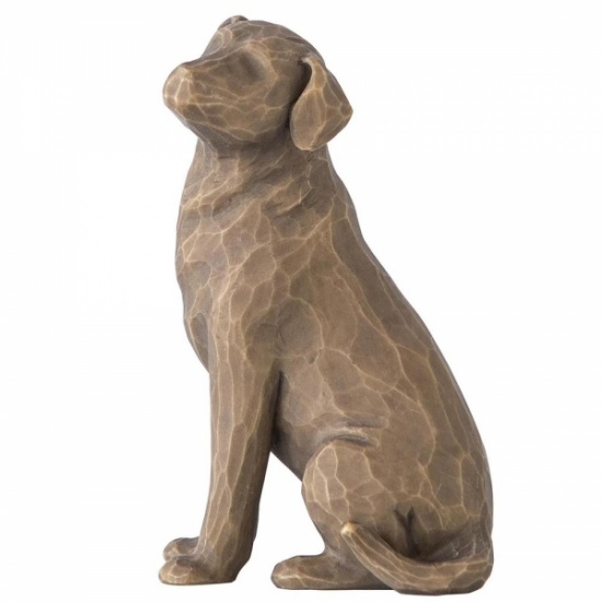 Willow Tree - Love my Dog (Dark) - Figurine