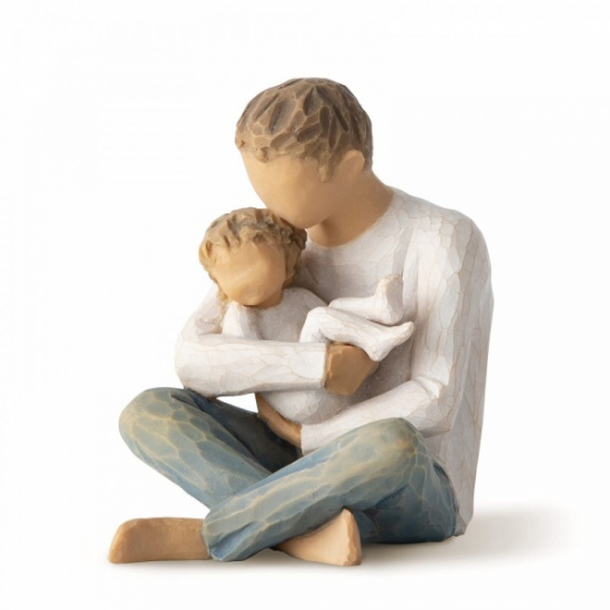 Little One Willow Tree Figurine  - Father and Child