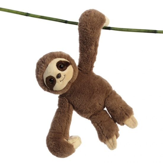 Sloth Hang N Swing 13 inch Soft Toy Aurora