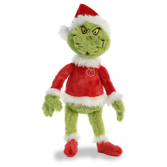 The Grinch - Dr Seuss Santa Grinch 19'' Soft Plush