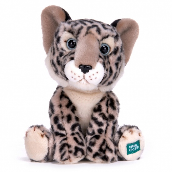 BBC Planet Earth Babies - 10 Inch Plush Snow Leopard Cub Soft Toy