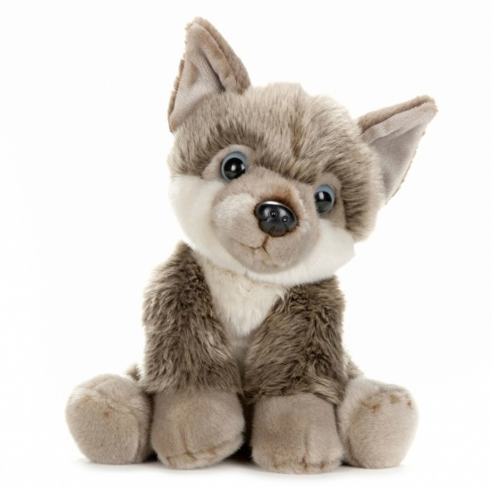 BBC Planet Earth Babies - 10 Inch Plush Husky Puppy Soft Toy