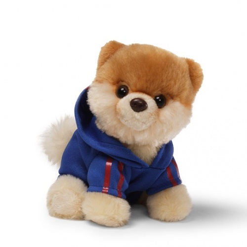 GUND Bitty Boo - Wearing A Jogging Suit - The Worlds Cutest Dog - Soft Toy