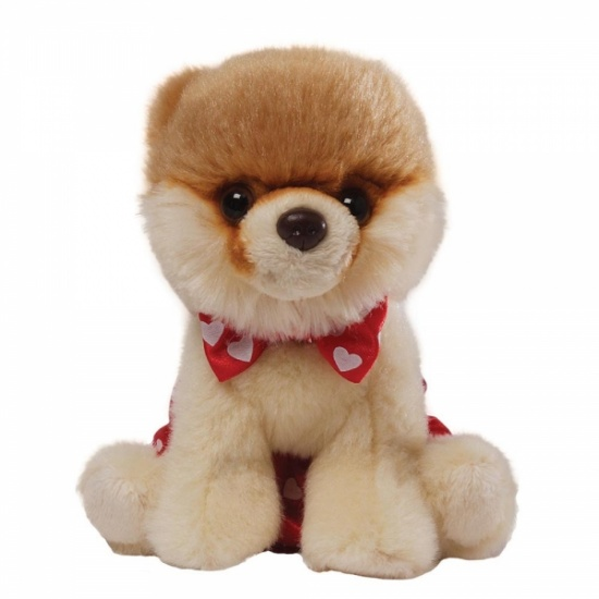 GUND Bitty Boo - Itty Bitty Boo Wearing Boxer Shorts & Bow Tie - The Worlds Cutest Dog - Soft Toy