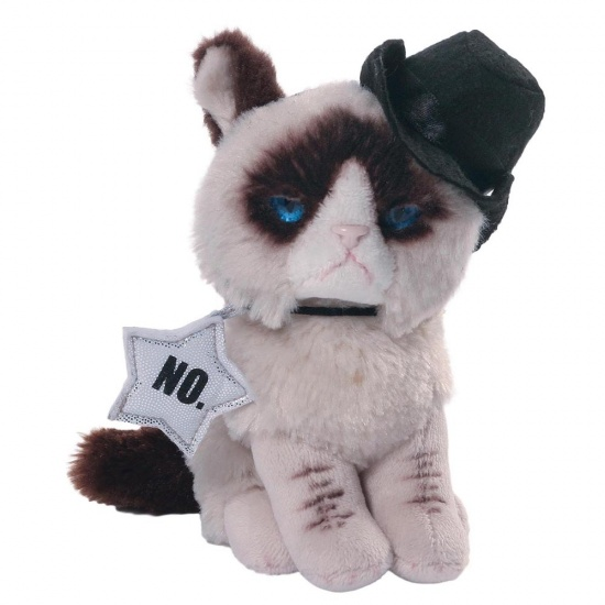 Grumpy Cat - Cowboy Plush Soft Toy - Gund - Officially Licenced