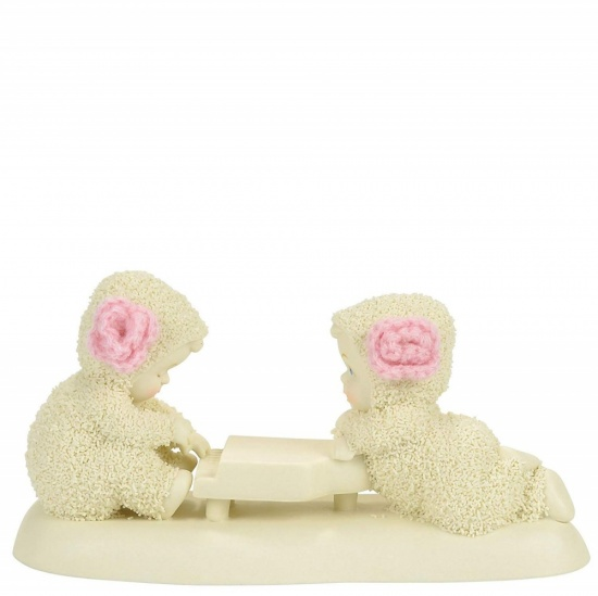 Snowbabies Love Song Figurine
