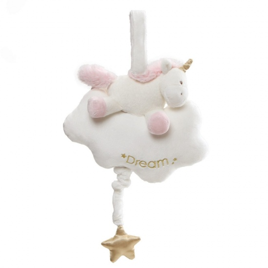 Baby Gund Luna Unicorn Pull String Musical Baby Toy