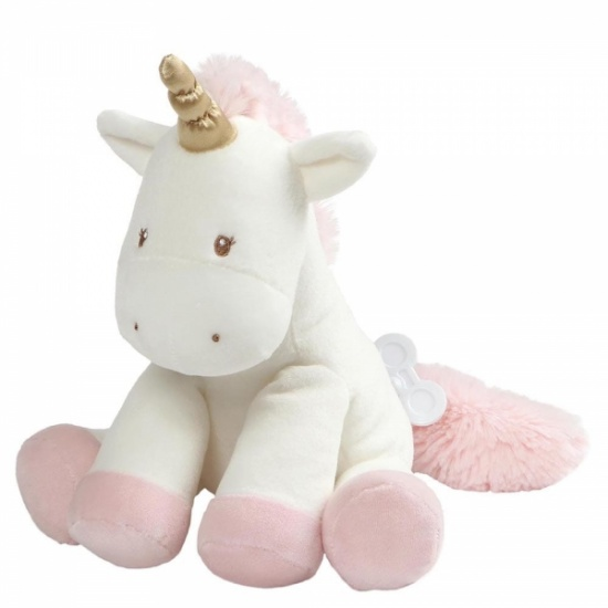 Luna the Unicorn Musical Wind up Toy - Baby Gund