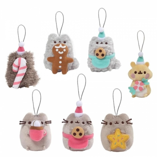 Pusheen Cat Surprise Plush Keyring Mystery Box Series 8 Christmas Sweets