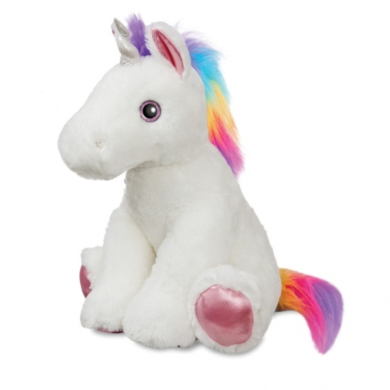 Sunset Jumbo 22'' Sparkle Tales Unicorn Soft Toy Teddy