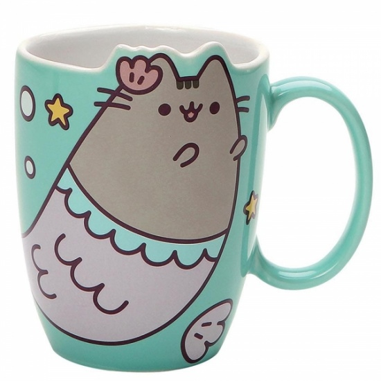 Pusheen the Cat Mermaid Mug - Gift Boxed Mug