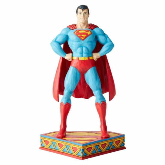 Superman Silver Age Figurine DC Comics by Jim Shore
