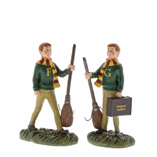 Harry Potter Fred and George Weasley Figurine