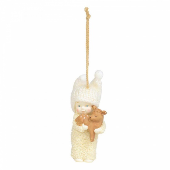 Snowbabies Peaceful Kingdom Deer Hanging Ornament Figurine
