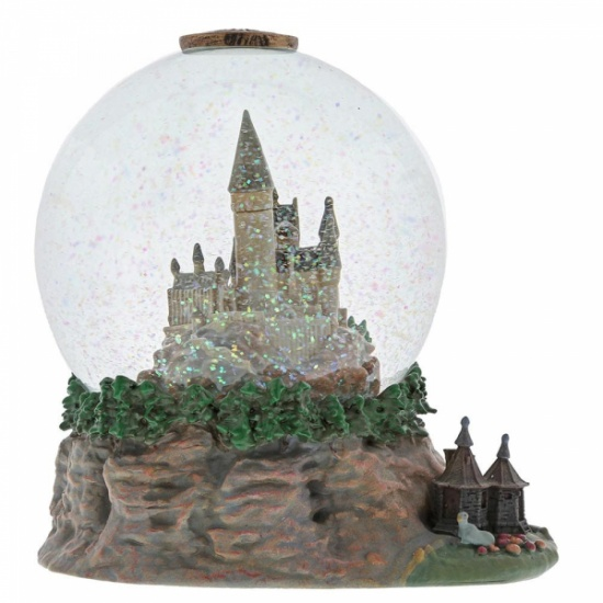 Harry Potter Hogwarts Castle Waterball with Hut - Snow Globe