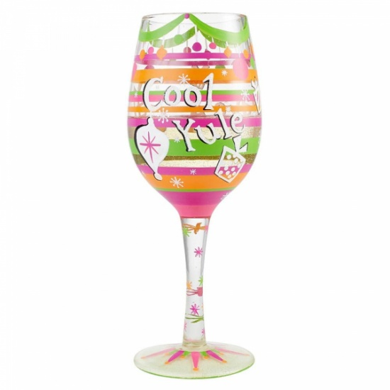 Lolita Cool Yule Wine Glass - Gift Boxed