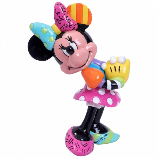 Disney By Britto - Minnie Mouse Blushing Mini Figurine