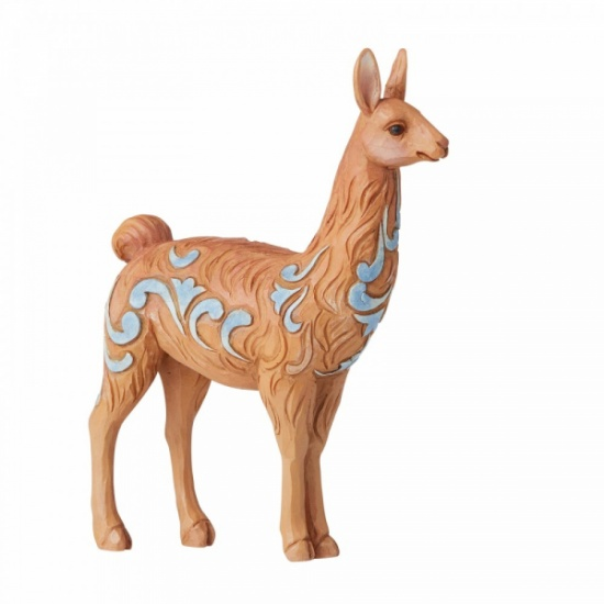 Jim Shore Heartwood Creek Llama Mini Figurine