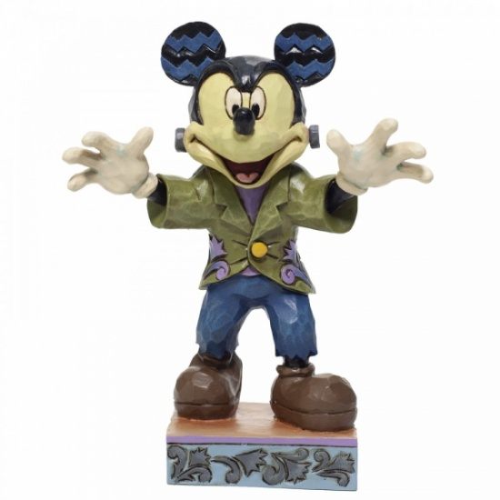 Disney Traditions Halloween Mickey Figurine