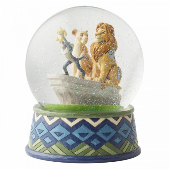 Disney Traditions Lion King Waterball Figurine