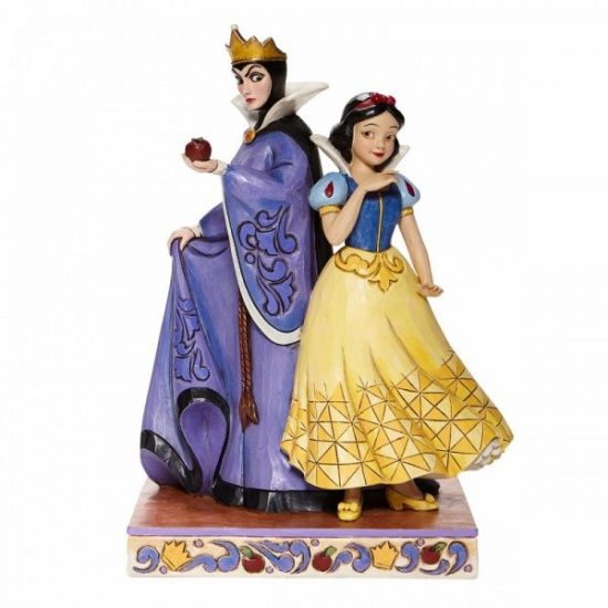 Disney Traditions Evil and Innocence - Snow White and Evil Queen Figurine