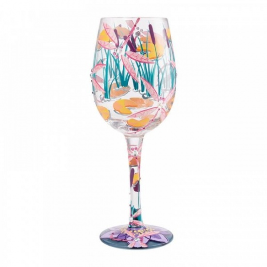 Dragonfly Magic Wine Glass - Gift Boxed