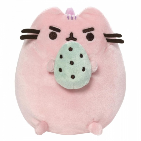 Gund Pusheen the Cat Pusheen Cotton Candy Standing with Egg Large Plush