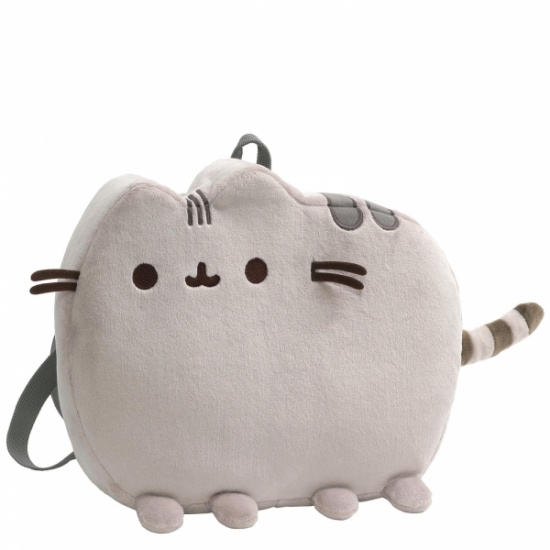 Pusheen Cat Shaped Plush Backpack