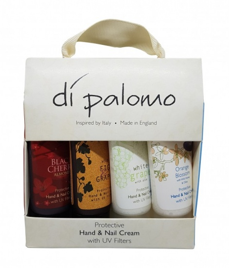 Di Palomo - Gift Pack of 4 Hand & Nail Cream 30ml