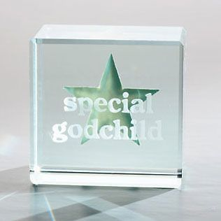 Spaceform Glass Gift Token - Special Godchild