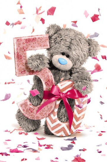 Me to You Tatty Teddy 50th Birthday Greetings Card
