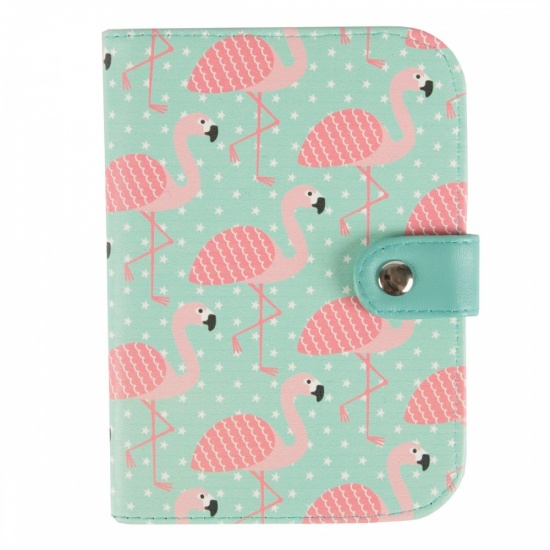Flamingo Passport Case / Holder
