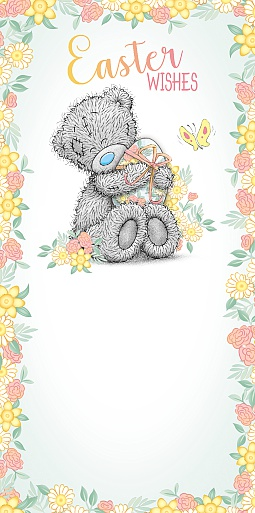 Me to You Tatty Teddy - Easter Wishes Money Wallet Card