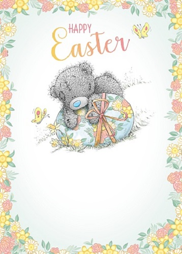Me to You Tatty Teddy - Happy Easter Card