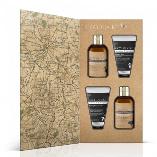 Baylis & Harding Fuzzy Duck Men's - Cedarwood & Wild Sage Grooming Essentials Kit