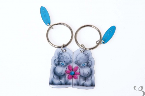 Me To You - Tatty 2 Part Keyring - Flower